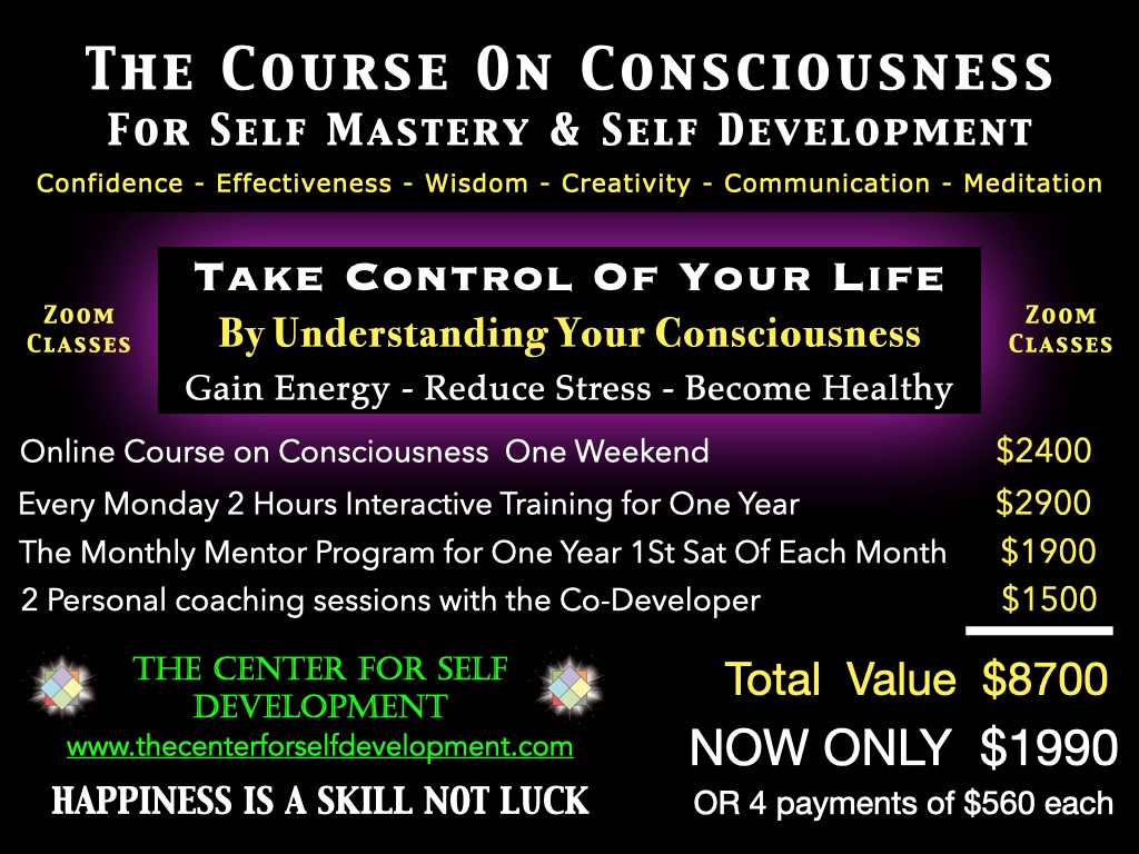 course on consciousness